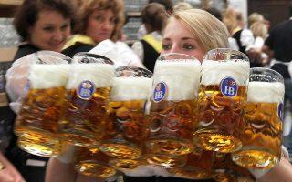 Τον Ιούνιο η τιμή της μπίρας ήταν σχεδόν 4,1% υψηλότερη σε συγκριτικά με πέρυσι.