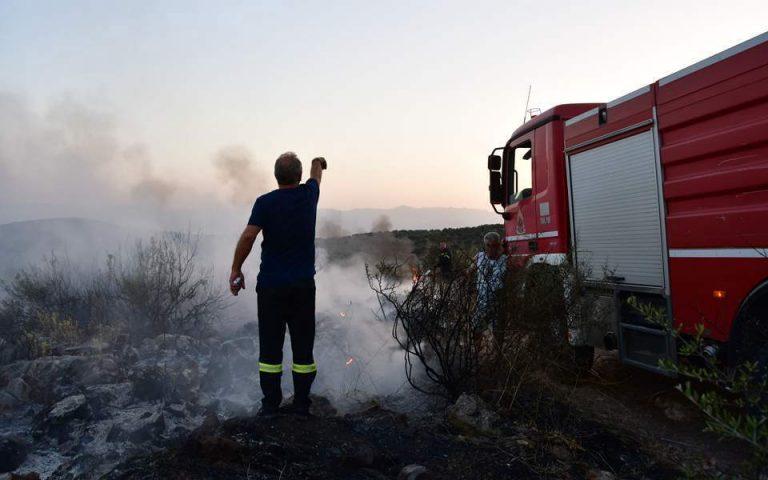 Πυρκαγιά στην Ιεράπετρα Κρήτης
