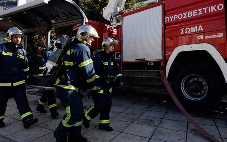 Σχέδιο εκκένωσης εφαρμόστηκε κοντά στην Πάτρα
