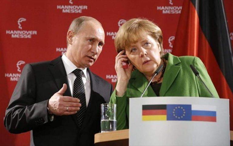 Κρίσιμη συνάντηση Μέρκελ – Πούτιν για ενέργεια, Συρία