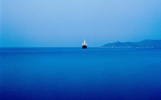 Φωτογραφία του Στράτου Καλαφάτη από τη σειρά «Αρχιπέλαγος».