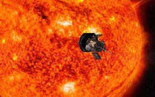 Εικαστική απεικόνιση της πρόσφατης αποστολής στον Ηλιο της NASA.