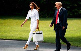Τάσεις πολιτικής αυτονόμησης εμφανίζει επ' εσχάτων η Πρώτη Κυρία των ΗΠΑ, Μελάνια Τραμπ, με τις «κακές γλώσσες» να υποστηρίζουν ότι η Αμερικανοσλοβένα καλλονή λειτουργεί ως «ηθική συνείδηση» του παρορμητικού και αθυρόστομου προέδρου. Οι πρωτοβουλίες της Μελάνια για την αντιμετώπιση του φαινομένου του εκφοβισμού (bullying) μεταξύ παιδιών και εφήβων και η απόφασή της να πραγματοποιήσει επίσημη επίσκεψη σε αφρικανικές χώρες εντάσσεται στην προσπάθεια «εξευγενισμού» του προέδρου Τραμπ.