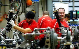Αν εξαιρέσουμε τη Γερμανία και τη Γαλλία, στην υπόλοιπη Ευρωζώνη η παραγωγή και ο ρυθμός αύξησης νέων παραγγελιών υποχώρησαν τον Αύγουστο.