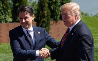 Η εφημερίδα Corriere della Sera δημοσίευσε την πληροφορία ότι ο Αμερικανός πρόεδρος Ντόναλντ Τραμπ είπε στον Ιταλό πρωθυπουργό Τζουζέπε Κόντε, σε πρόσφατη συνάντησή τους στον Λευκό Οίκο, ότι οι ΗΠΑ θα βοηθήσουν τη Ρώμη να χρηματοδοτήσει το δημόσιο χρέος της το 2019.