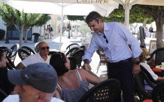 «Ο κ. Τσίπρας αντιπροσωπεύει το χθες. Δεν μπορεί να μιλήσει για το αισιόδοξο αύριο της Ελλάδος», είπε ο Κυρ. Μητσοτάκης από τη Ζάκυνθο.