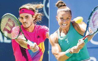 Ο Στέφανος Τσιτσιπάς είναι Νο 15 και η Μαρία Σάκκαρη Νο 32 στην παγκόσμια κατάταξη και για πρώτη φορά στην ιστορία του αθλήματος, τόσο στο ταμπλό των ανδρών όσο και των γυναικών υπάρχει ελληνική παρουσία στις πρώτες 32 θέσεις.
