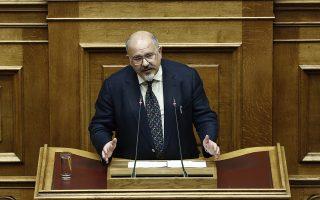 Ο κοινοβουλευτικός εκπρόσωπος του ΣΥΡΙΖΑ Νίκος Ξυδάκης μιλάει στη συζήτηση επί της πρότασης δυσπιστίας της ΝΔ κατά της Κυβέρνησης στην Ολομέλεια της Βουλής, Αθήνα, Παρασκευή 15 Ιουνίου 2018. ΑΠΕ-ΜΠΕ/ΑΠΕ-ΜΠΕ/ΓΙΑΝΝΗΣ ΚΟΛΕΣΙΔΗΣ