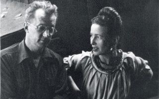 Νέλσον Ολγκριν και Σιμόν ντε Μποβουάρ. Το «Αγαπημένο ντόπιο παλικάρι» και η «Βατραχίνα» είχαν έντονη ερωτική σχέση για χρόνια.