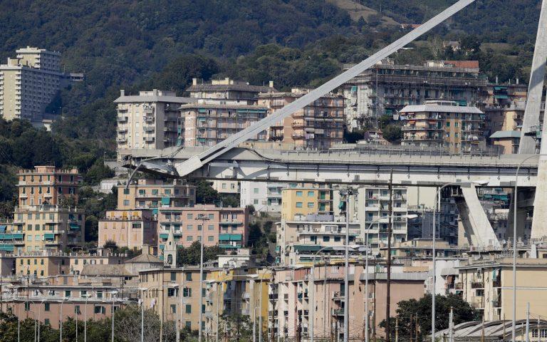 Γένοβα: Παίρνει πρωτοβουλίες η εταιρεία διαχείρισης του αυτοκινητοδρόμου