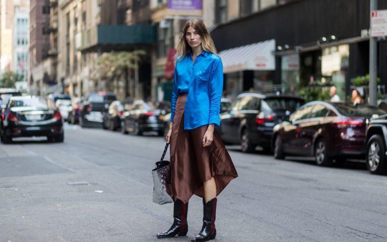 3 σούπερ τρόποι να φορέσεις τις καουμπόϊκες μπότες σου το φθινόπωρο