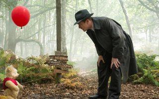 Σκηνή από την ταινία «Christopher Robin», όπου ο Γιούαν Μακ Γκρέγκορ συναντά τον παιδικό του φίλο.