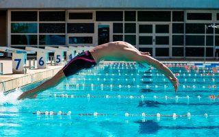 Απόστολος Χρήστου (21 ετών), πρωταθλητής κολύμβησης.