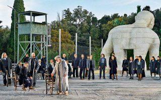 Η τραγωδία του Σοφοκλή, σε σκηνοθεσία Γιάννη Κόκκου, ανεβαίνει στο Αρχαίο Θέατρο της Επιδαύρου.