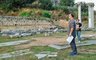 Ο «Οιδίπους, Ανασκαφή δεύτερη» ανεβαίνει σε σκηνοθεσία Θοδωρή Γκόνη, διευθυντή του Φεστιβάλ Φιλίππων.