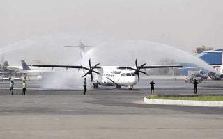 Στο νήμα. Η Τεχεράνη παραλαμβάνει παραγγελία ευρωπαϊκών αεροσκαφών, παραμονές της εφαρμογής των κυρώσεων.