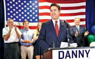 Ο Δημοκρατικός Ντάνι Ο' Κόνορ θα αναμετρηθεί και πάλι τον Νοέμβριο με τον Ρεπουμπλικανό Τρόι Μπάλντερσον.