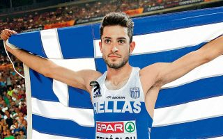 Με άλμα στα 8,25 μ. ο Τεντόγλου κατέκτησε το χρυσό μετάλλιο στο μήκος, στο ευρωπαϊκό πρωτάθλημα στίβου που διεξάγεται στο Βερολίνο.