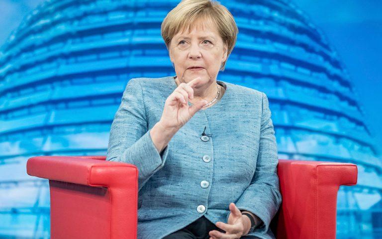 Αρνητική η Μέρκελ σε νέα μέτρα για την κλιματική αλλαγή