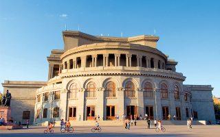 Το εντυπωσιακό κτίριο της Όπερας. (Φωτογραφία: © Getty Images/Ideal Image)