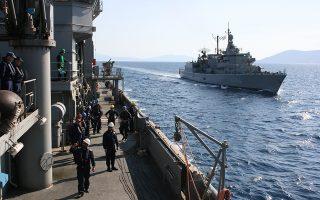 (Ξένη Δημοσίευση) Εκπαιδευτικός πλους της Σχολής Ναυτικών Δοκίμων (ΣΝΔ) με συμμετοχή του συνόλου των Ναυτικών Δοκίμων, του πλοίου γενικής υποστήριξης ΠΡΟΜΗΘΕΥΣ και της φρεγάτας ΚΑΝΑΡΗΣ, που πραγματοποιήθηκε από 06 έως 10 Απριλίου 2017. Σκοπός του εκπαιδευτικού πλου της ΣΝΔ ήταν η εξοικείωση των Ναυτικών Δοκίμων με τη θάλασσα, η πρακτική εκπαίδευση εν πλω, η απόκτηση ναυτικών γνώσεων και εμπειρίας καθώς και η προβολή του Πολεμικού Ναυτικού και της Ελληνικής Σημαίας. Τρίτη 11 Απριλίου 2017 ΑΠΕ-ΜΠΕ/Γ.Ε.Ν./STR