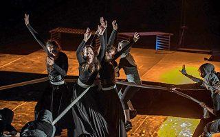 Η «Φόνισσα» του Αλέξανδρου Παπαδιαμάντη, σε μια μουσικοχορευτική παράσταση.