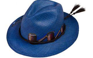 Panama καπέλο ζωγραφισμένο στο χέρι €220,00