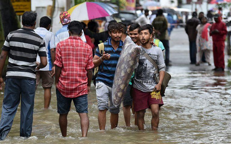 Ινδία: 67 νεκροί από τις πλημμύρες στην Κεράλα