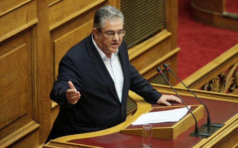 ΚΚΕ: Κυβέρνηση με χαρτοφυλάκιο το «μεταμνημονιακό μνημόνιο»