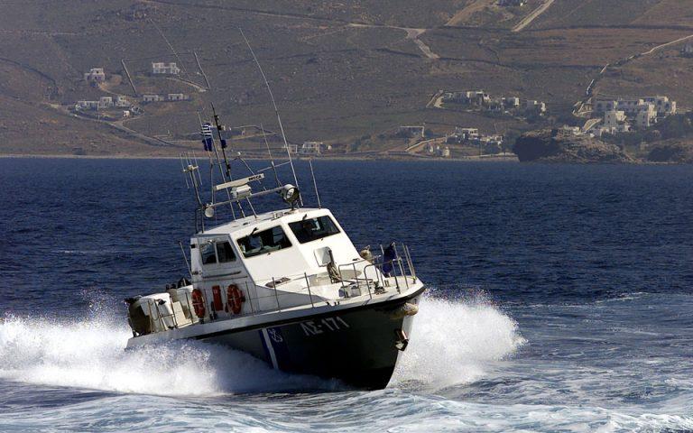 Οινούσσες: Ακαρπες οι έρευνες για τον 22χρονο Ελληνοαμερικανό που αγνοείται μετά τη βύθιση σκάφους