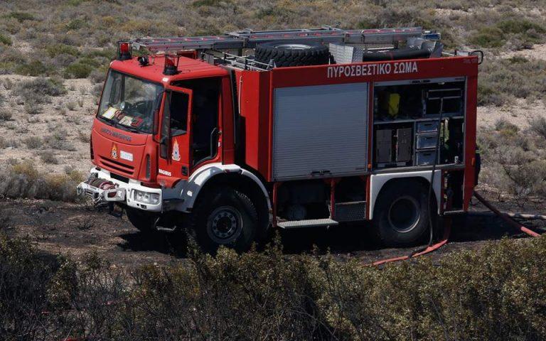 Υπό έλεγχο η φωτιά που εκδηλώθηκε το πρωί στο Σέσι Γραμματικού