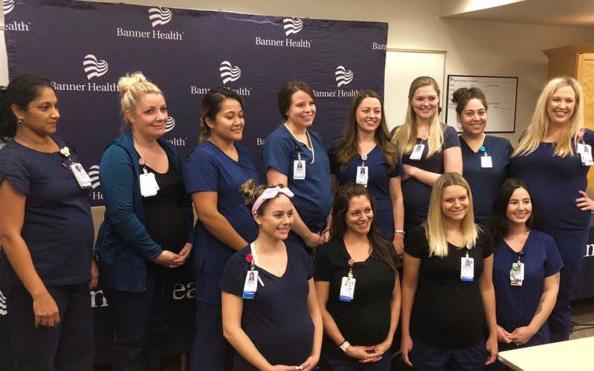 Ταυτόχρονη εγκυμοσύνη για 16 νοσηλεύτριες στην Αριζόνα