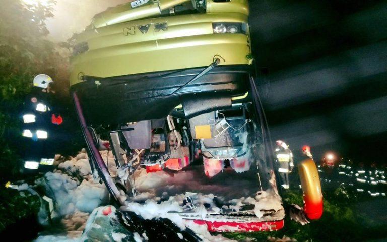 Πολωνία: Τρεις νεκροί και 18 τραυματίες σε τροχαίο με ουκρανικό τουριστικό λεωφορείο (φωτογραφίες)