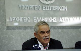 ΦΩΤΟ ΑΡΧΕΙΟΥ (26/7/2018) – Ο αναπληρωτής υπουργός για την Προστασία του Πολίτη, Νίκος Τόσκας, σύμφωνα με σχετική ανακοίνωση του γραφείου Τύπου του πρωθυπουργού, κατά τη διάρκεια της συνάντησης του με τον πρωθυπουργό Αλέξη Τσίπρα (ΔΕΝ ΕΙΚΟΝΙΖΕΤΑΙ) στο Μέγαρο Μαξίμου και με δεδομένο ότι έχει παρέλθει η κατάσταση έκτακτης ανάγκης, επανήλθε στην παραίτηση που είχε καταθέσει στον Πρωθυπουργό την προηγούμενη εβδομάδα. Ο Πρωθυπουργός έκανε δεκτή την παραίτηση του κου Τόσκα και τον ευχαρίστησε για την συνεργασία όλων των τελευταίων χρόνων. Παρασκευη 3 Αυγούστου 2018 ΑΠΕ-ΜΠΕ/ΑΠΕ-ΜΠΕ/ΓΙΑΝΝΗΣ ΚΟΛΕΣΙΔΗΣ