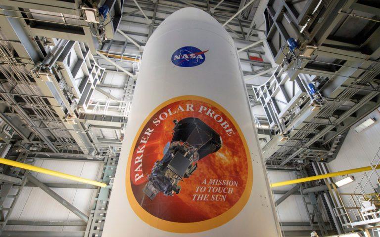 etoimo-na-aggixei-ton-ilio-to-parker-solar-probe-tis-nasa-2266931