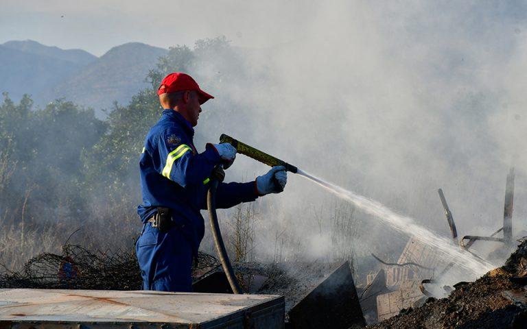 Πολύ υψηλός ο κίνδυνος πυρκαγιάς και για αύριο Πέμπτη