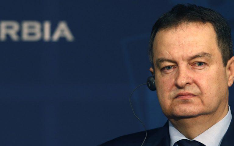 ΥΠΕΞ Σερβίας: Η οριοθέτηση μεταξύ Αλβανών και Σέρβων στο Κόσσοβο αποτελεί τη μοναδική βιώσιμη λύση