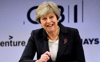 Η Τερέζα Μέι ελπίζει να πετύχει μια «φιλική για τις επιχειρήσεις» συμφωνία με την Ευρωπαϊκή Ενωση.