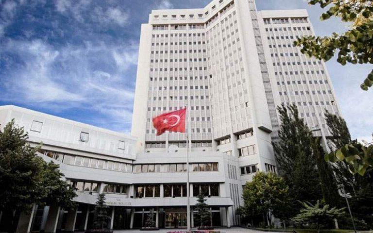 Τουρκικό ΥΠΕΞ: Ανεύθυνοι οι ισχυρισμοί Καμμένου