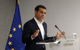 Ο πρωθυπουργός, Αλέξης Τσίπρας μιλάει κατά την παρουσίαση του νέου σχεδίου για την Πολιτική Προστασία, την Πέμπτη 9 Αυγούστου 2018, στο Υπουργείο Προστασίας του Πολίτη.  ΑΠΕ-ΜΠΕ/ΑΠΕ-ΜΠΕ/ΑΛΕΞΑΝΔΡΟΣ ΒΛΑΧΟΣ