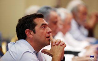 Ο πρωθυπουργός Αλέξης Τσίπρας παρακολουθεί σκεπτικός κατά τη διάρκεια της Συνεδρίασης της Κεντρικής Επιτροπής του ΣΥΡΙΖΑ, με θέμα: Ο ΣΥΡΙΖΑ στη νέα εποχή μετά τα μνημόνια, Δευτέρα 27 Αυγούστου 2018. Ο πρωθυπουργός πρότεινε στην ΚΕ να εκλέξει ως επόμενο Γραμματέα τον Παναγιώτη Σκουρλέτη. ΑΠΕ-ΜΠΕ /ΑΠΕ-ΜΠΕ/ΟΡΕΣΤΗΣ ΠΑΝΑΓΙΩΤΟΥ