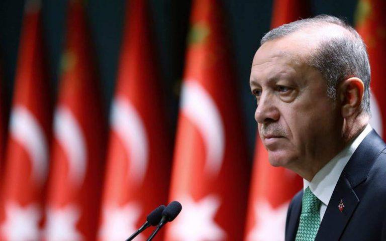 Αναφορά Ερντογάν στην τουρκική εισβολή στην Κύπρο