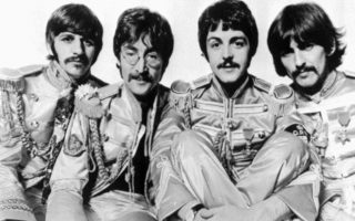 ** ADVANCE FOR Monday, OCT. 31--FILE **The Beatles are shown in this 1967 file photo made available by parlophone. From left are Ringo Starr, John Lennon, Paul McCartney and George Harrison.