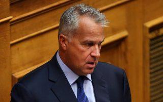 Ο βουλευτής της Νέας Δημοκρατίας Μάκης Βορίδης  μιλάει από το βήμα της Βουλής στη συζήτηση για τη ψήφιση του νομοσχεδίου με τα προαπαιτούμενα για το κλείσιμο της 4ης αξιολόγησης, Τετάρτη 13 Ιουνίου 2018. ΑΠΕ-ΜΠΕ/ΑΠΕ-ΜΠΕ/ΟΡΕΣΤΗΣ ΠΑΝΑΓΙΩΤΟΥ