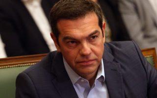 O πρωθυπουργός Αλέξης Τσίπρας   στη σημερινή συνεδρίαση του υπουργικού συμβουλίου στη Βουλή, Δευτέρα 18 Σεπτεμβρίου 2017. ΑΠΕ - ΜΠΕ/ΑΠΕ - ΜΠΕ/Αλέξανδρος Μπελτές