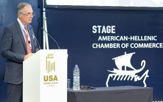 «Κάποιος με εμπειρία στην κουλτούρα και στην έντονη νυχτερινή ζωή της Αθήνας μπορεί εύκολα να καταλάβει τι μπορούμε να προσφέρουμε στην τοπική κοινωνία», λέει ο κ. πρόεδρος Διεθνούς Ανάπτυξης της Caesars Entertainment, Στίβεν Τάιτ.
