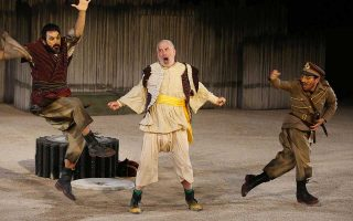Oι «Αχαρνής» παρουσιάζονται στο δημοτικό θέατρο «Αλέξης Μινωτής».