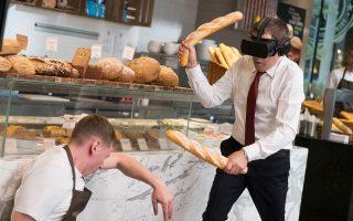 Ο Ρόουαν Ατκινσον μπαίνει σε ξεκαρδιστικές περιπέτειες, μπλέκοντας, μεταξύ άλλων, και με την εικονική πραγματικότητα.