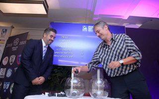 ΠΑΟΚ - Παναθηναϊκός και Ολυμπιακός - ΑΕΚ ανοίγουν την αυλαία της Α1 βόλεϊ στις 13 Οκτωβρίου.