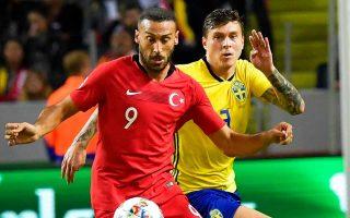 H Τουρκία επικράτησε της Σουηδίας με 3-2 στις καθυστερήσεις  του αγώνα.
